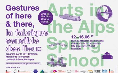 Ecole doctorale internationale, Maison de la création Université Grenoble Alpes